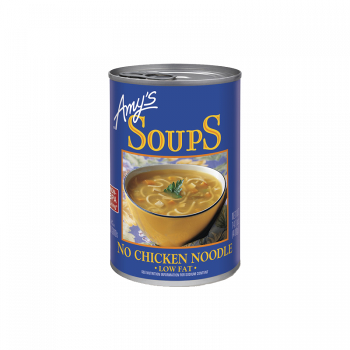 Amy's No Chicken Noodle Soup, 14.1 oz.