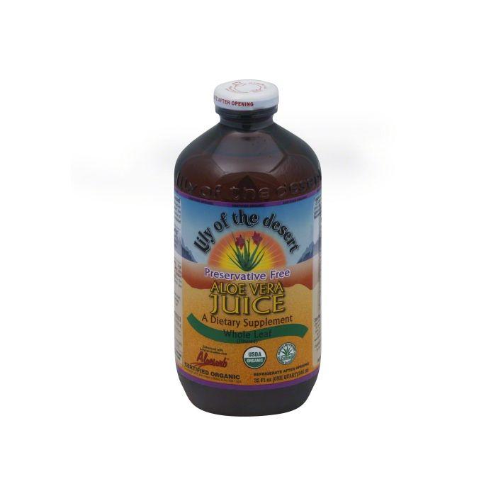 Lily of the Desert Whole Leaf Preservative Free Aloe Vera Juice, 32 fl.oz.