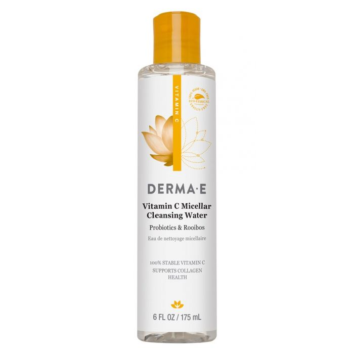 Derma E Vitamin C Micellar Cleansing Water, 6 fl. oz.