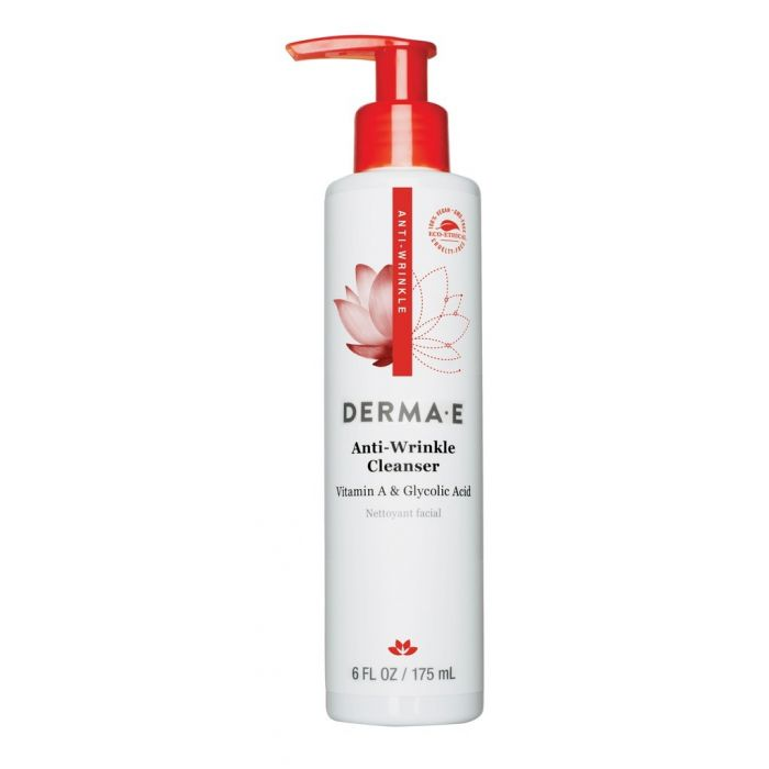 Derma E Anti-Wrinkle Cleanser, 6 fl. oz.