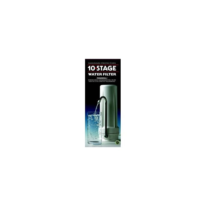 New Wave Enviro Premium 10 Stage Water Filter, 1 Each