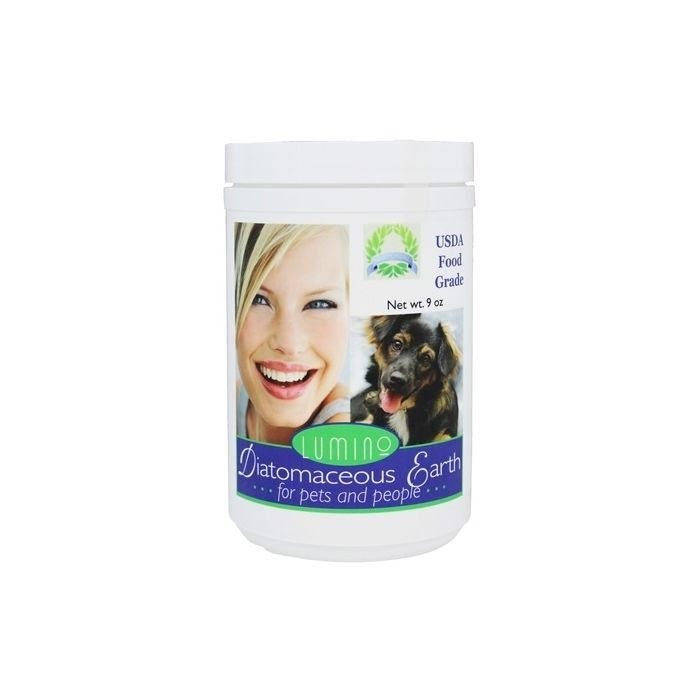 Lumino Diatomaceous Earth for Pets and People, 9 oz.