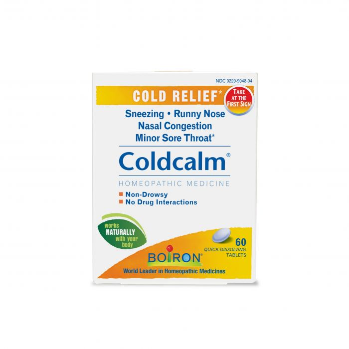 Boiron Homeopathic Coldcalm, 60 Tablets