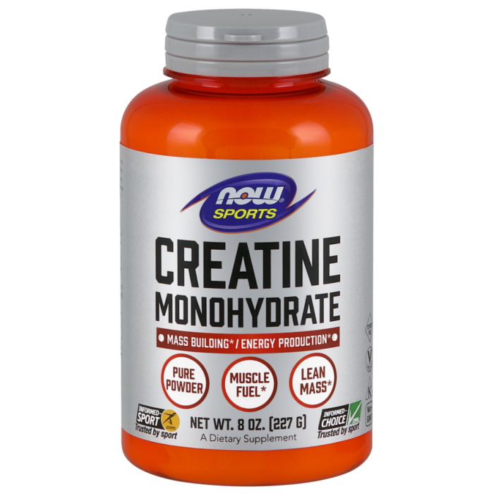Creatine Monohydrate Powder - 8 oz.