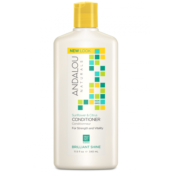 Andalou Naturals Sunflower & Citrus Brilliant Shine Conditioner, 11.5 fl. oz.