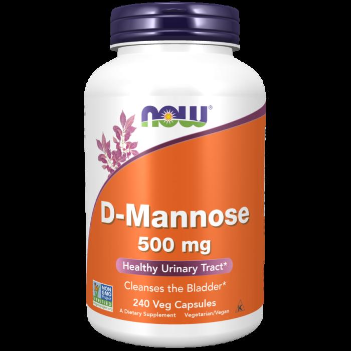 D-Mannose 500 mg - 240 Veg Capsules
