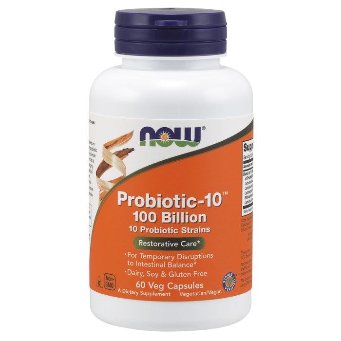 Probiotic-10™ 100 Billion - 60 Veg Capsules