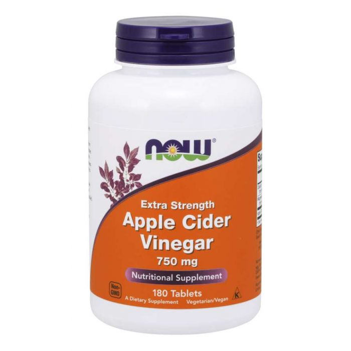 Apple Cider Vinegar, Extra Strength 750 mg - 180 Tablets