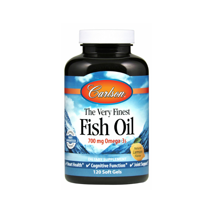 Carlson Very Finest Fish Oil, 120 softgels