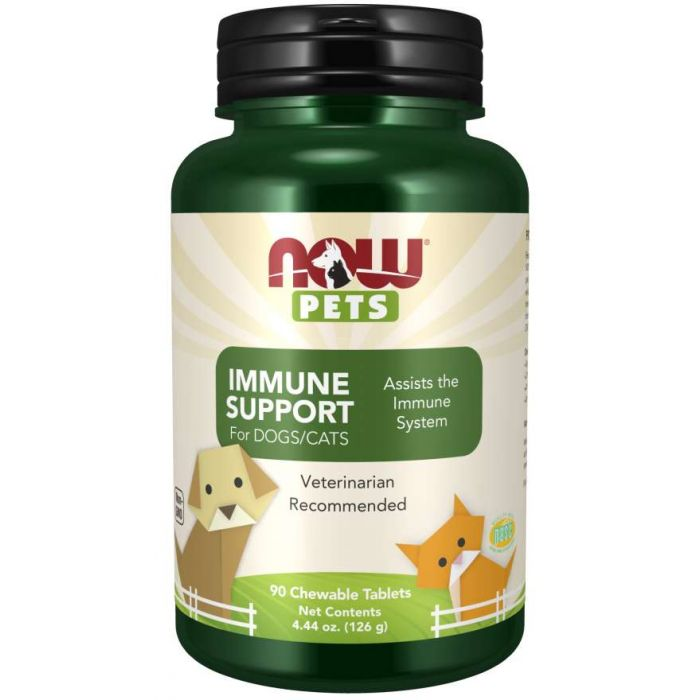 Immune Support - 90 Chewable Tablets for Dogs & Cats