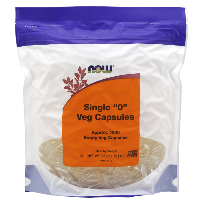 Empty Capsules, Vegetarian, Single 0 - 1000 Veg Capsules