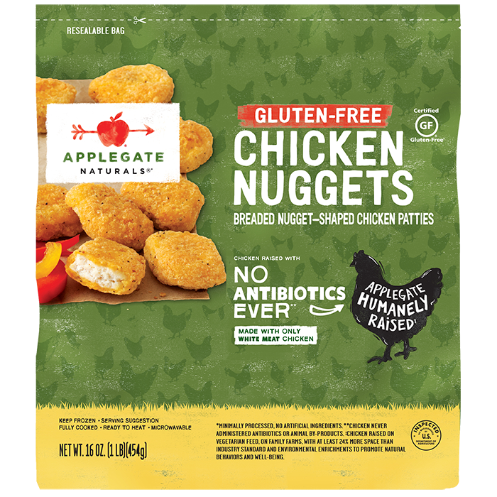 Applegate Naturals Gluten-Free Chicken Nuggets, Family Size