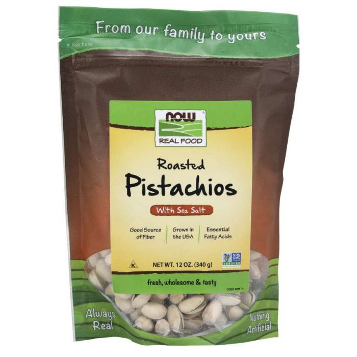 Pistachios, Roasted & Salted - 12oz