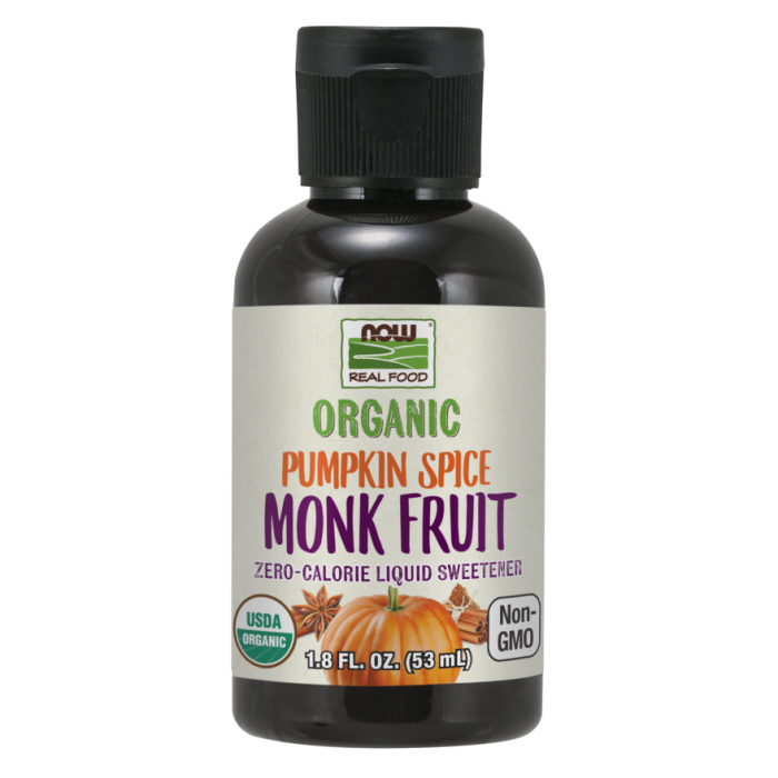 Monk Fruit Pumpkin Spice Liquid