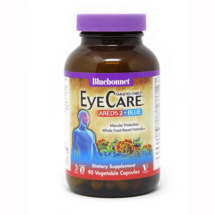 Bluebonnet Target Choice Eye Care, 90 Veg Capsules