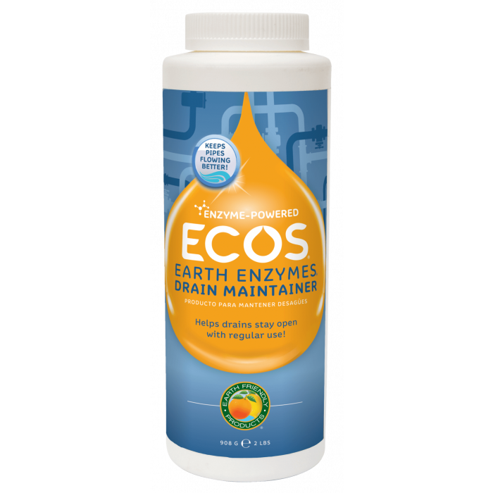 ECOS Earth Enzymes Drain Maintainer, 2 lbs.