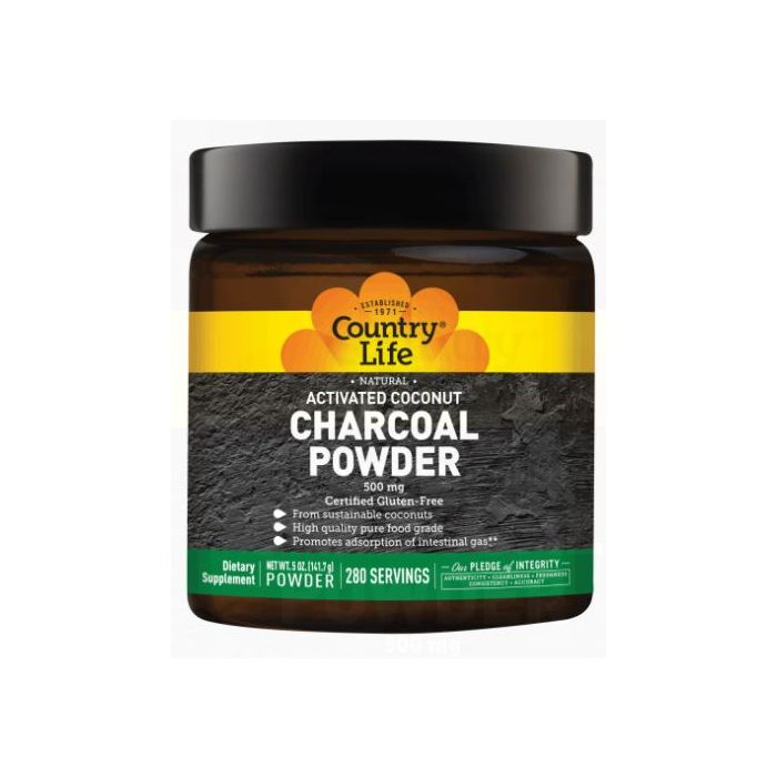 Country Life Charcoal Powder, 5 oz.