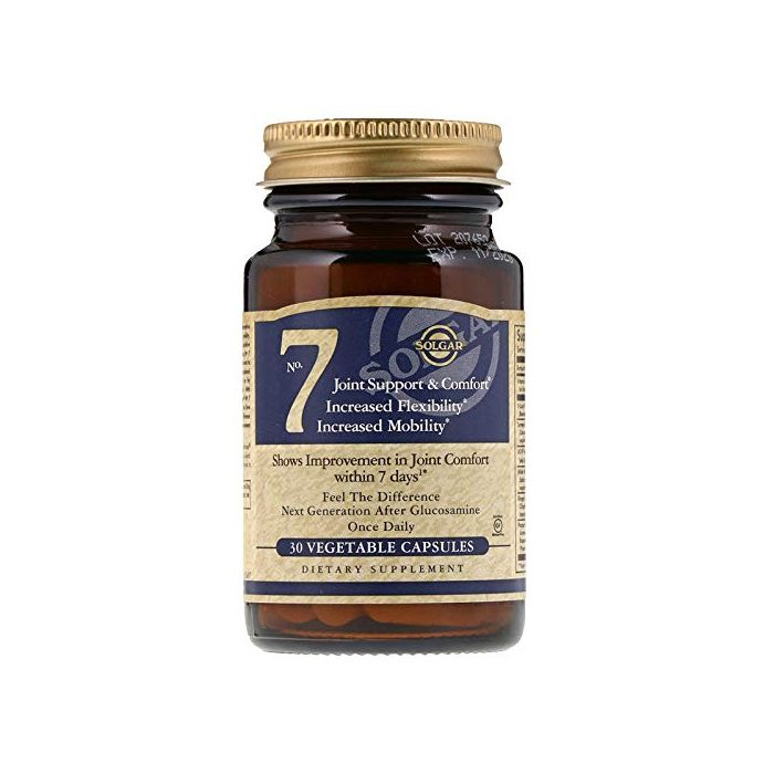 Solgar No. 7, 30 Vegetable Capsules