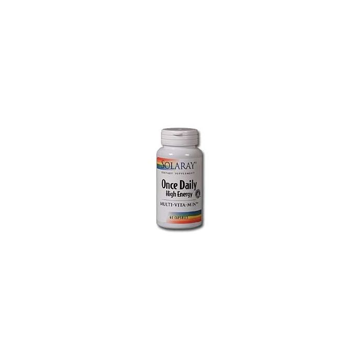 Solaray Once Daily High Energy Multi Vitamin, 180 Capsules