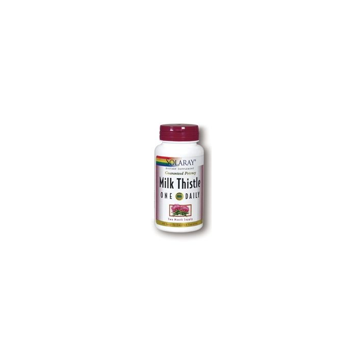 Solaray Milk Thistle One Daily, 60 Capsules