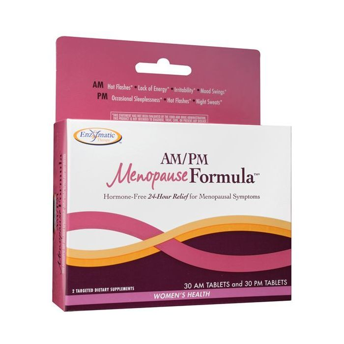 Enzymatic Therapy AM/PM Menopause Formula, 60 Tablets