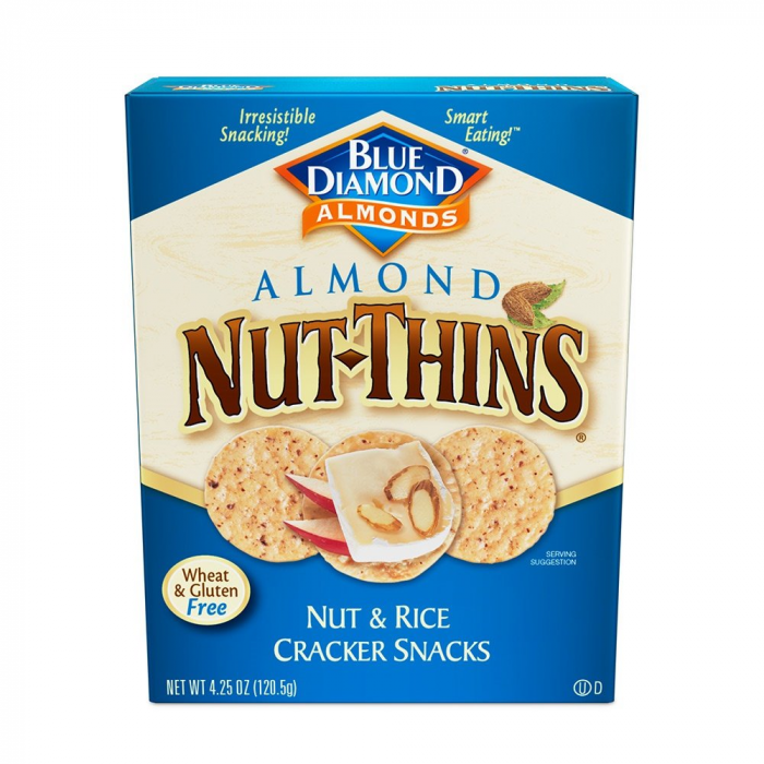 Blue Diamond Almond Thin Cracker, 4.25 oz.