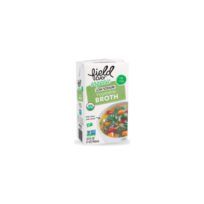 Field Day Low Sodium Organic Vegetable Broth - Main