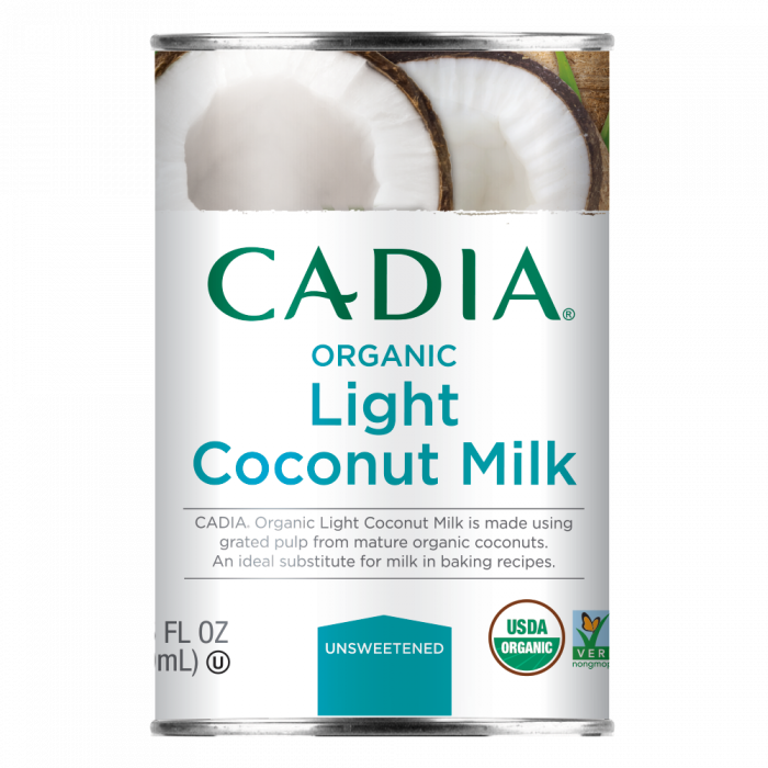 Cadia Organic Light Coconut Milk, 13.5 fl. oz.