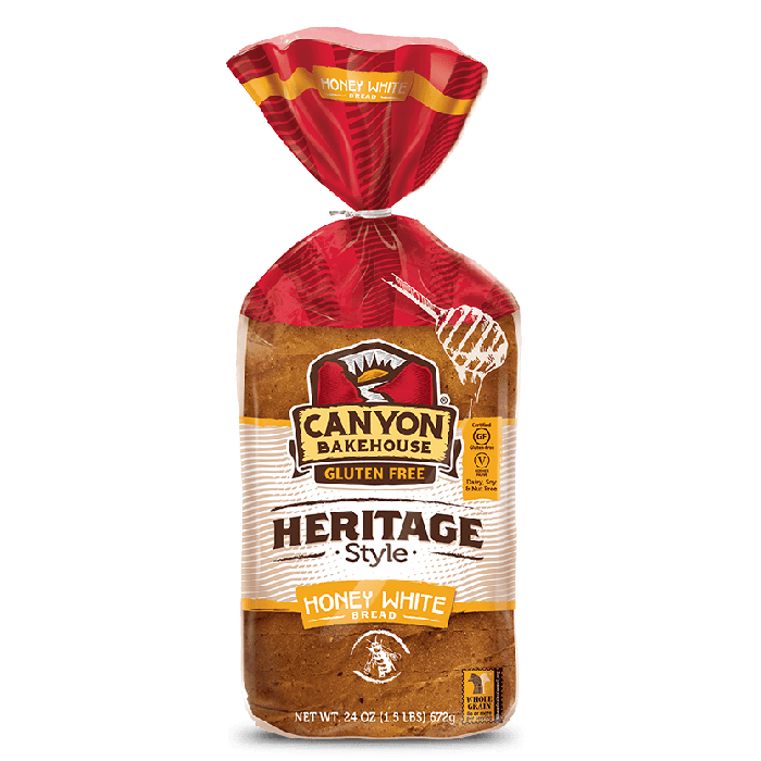 Canyon Bakehouse Gluten Free Heritage Honey Style White Bread