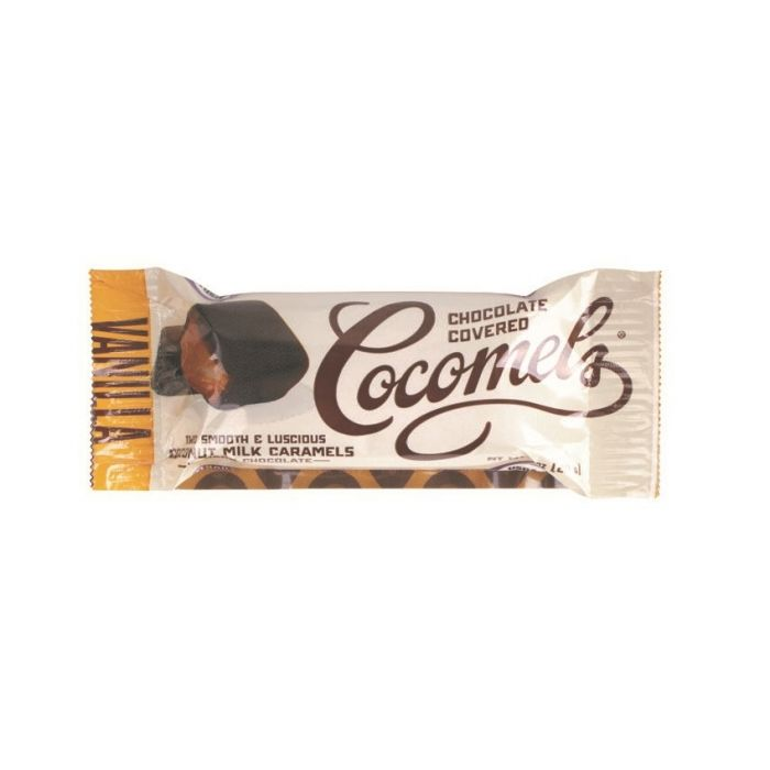 Cocomels Chocolate-Covered Cocomels, Vanilla, 1 oz.