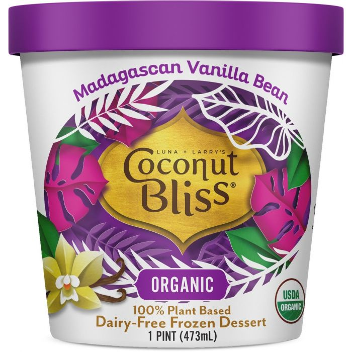 Coconut Bliss Dairy Free Madagascan Vanilla Bean Ice Cream