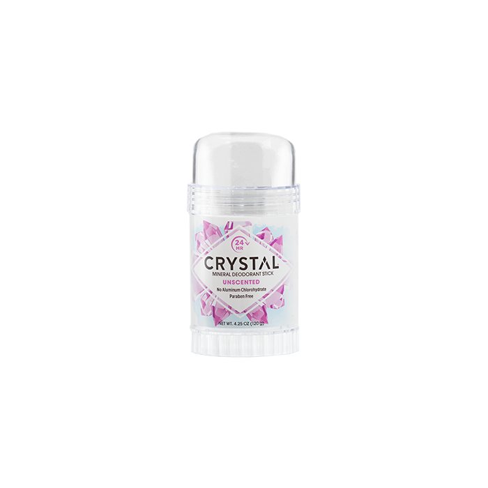 Crystal Mineral Deodorant Stick, Unscented, 4.25 oz.