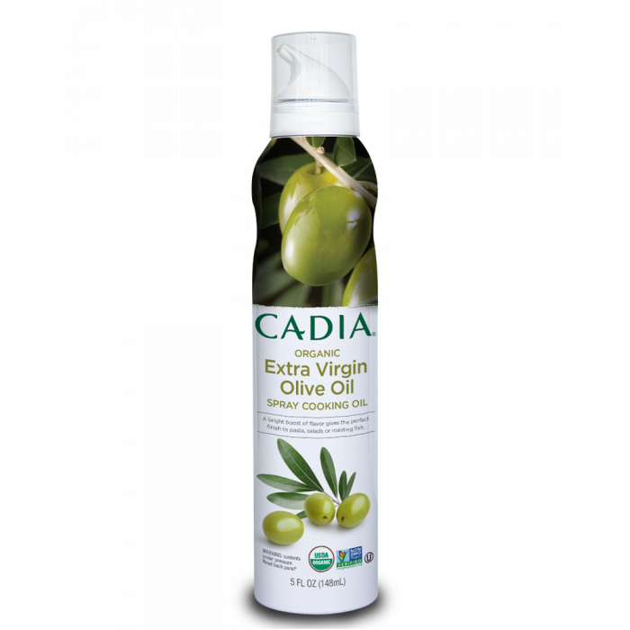 Cadia Organic Extra Virgin Olive Oil Spray Cooking Oil, 5 fl. oz.