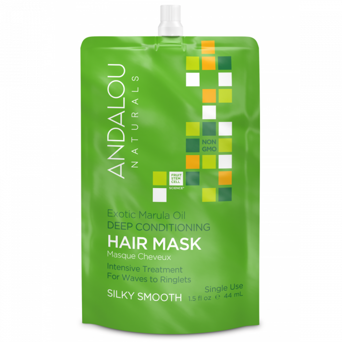 Andalou Naturals Exotic Marula Oil Deep Conditioning Hair Mask, 1.5 fl. oz.