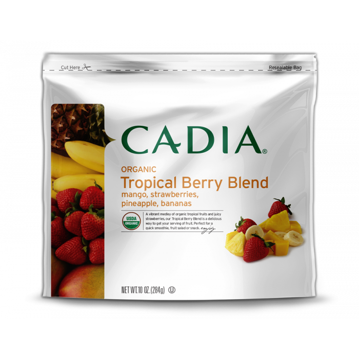 Cadia Frozen Organic Tropical Berry Blend