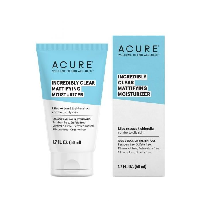 Acure Incredibly Clear Mattifying Moisturizer, 1.7 fl. oz.