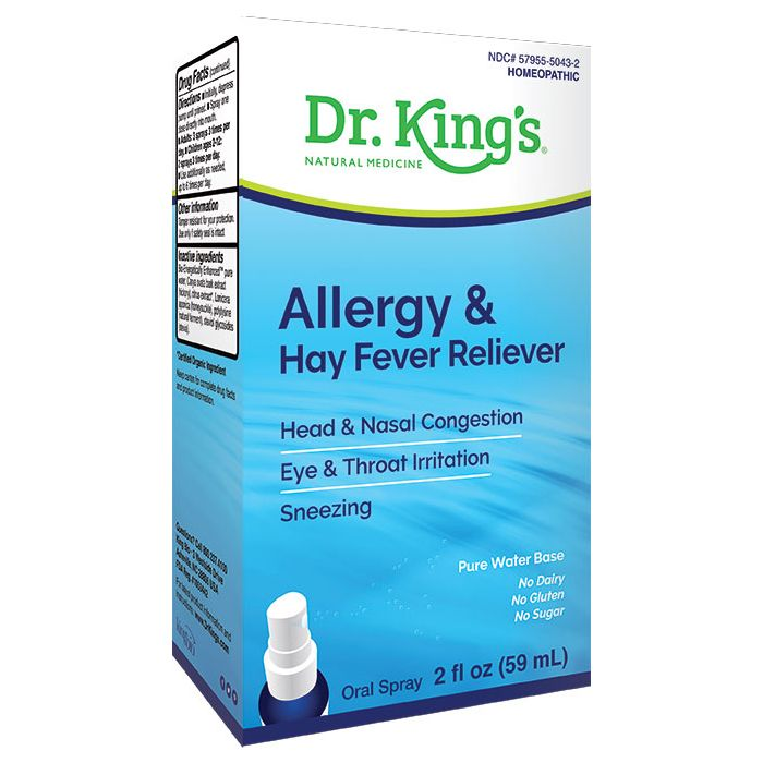 Dr. King's Allergy & Hay Fever Reliever, 2 fl. oz.