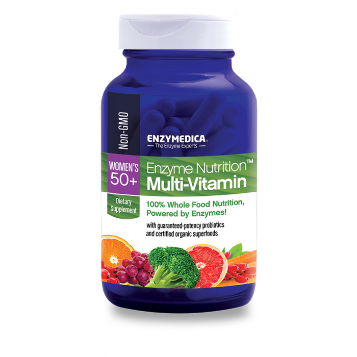 Enzymedica Enzyme Nutrition Women's 50+ Multi-vitamin, 120 cp.