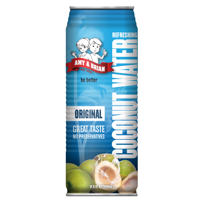 Amy & Brian Original Coconut Water, 17.5 fl. oz.