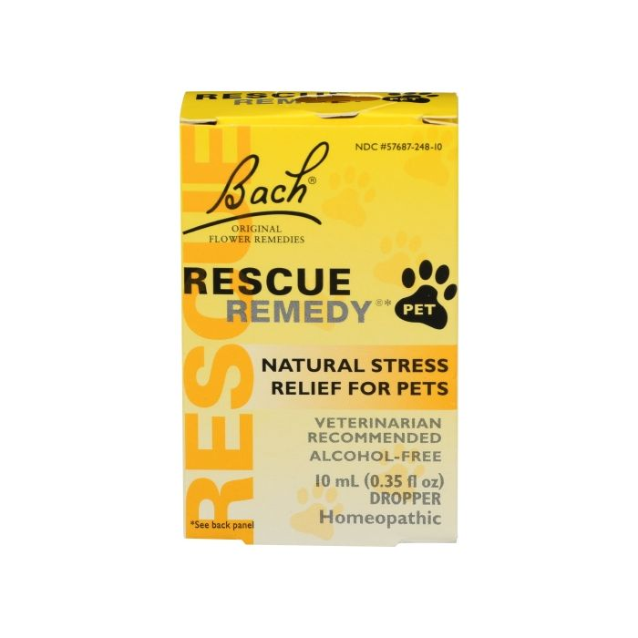 Bach Rescue Remedy Natural Stress Relief for Pets, 10 ml