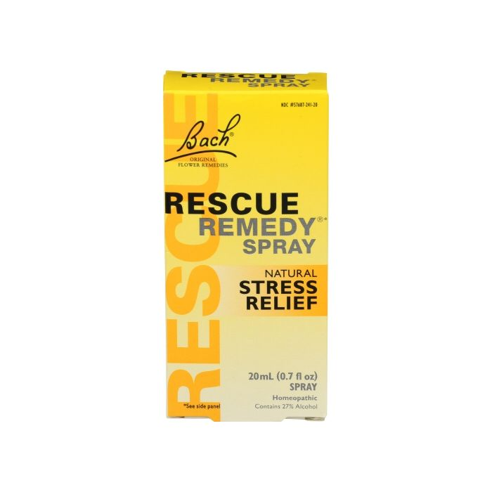 Bach Rescue Remedy Natural Stress Relief Spray, 20 ml