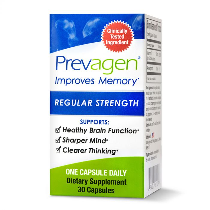 Prevagen Regular Strength, 30 Capsules