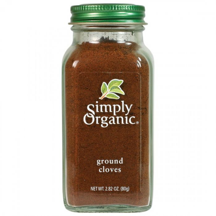 Simply Organic Ground Cloves, 2.82 oz.