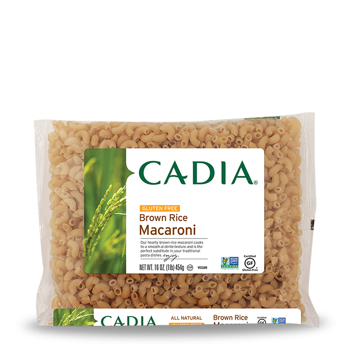 Cadia Gluten-Free Brown Rice Macaroni Pasta, 16 oz.