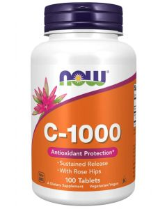 Vitamin C-1000 Sustained Release - 100 Tablets