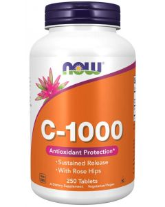 Vitamin C-1000 Sustained Release - 250 Tablets