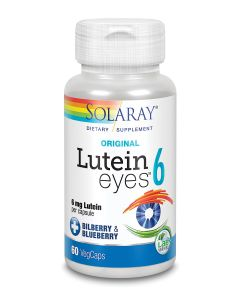 Solaray Lutein Eyes 6, 60 Capsules
