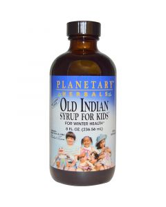 Planetary Herbals Old Indian Syrup for Kids, 8 fl. oz.