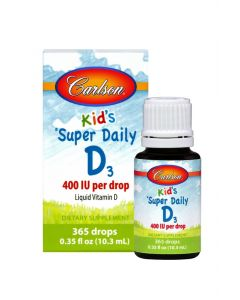Carlson for Kids® Super Daily® D-3 400 IU 0.35 fl. oz.