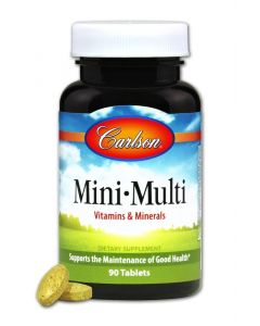 Carlson Mini-Multi Vitamins & Minerals, 90 Tablets